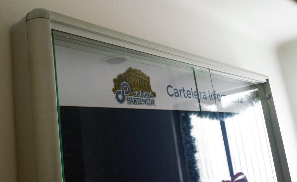 CARTELERA PARA CLINICA EN BOGOTÁ