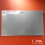 cartelera magnética 150x100 cma color gris