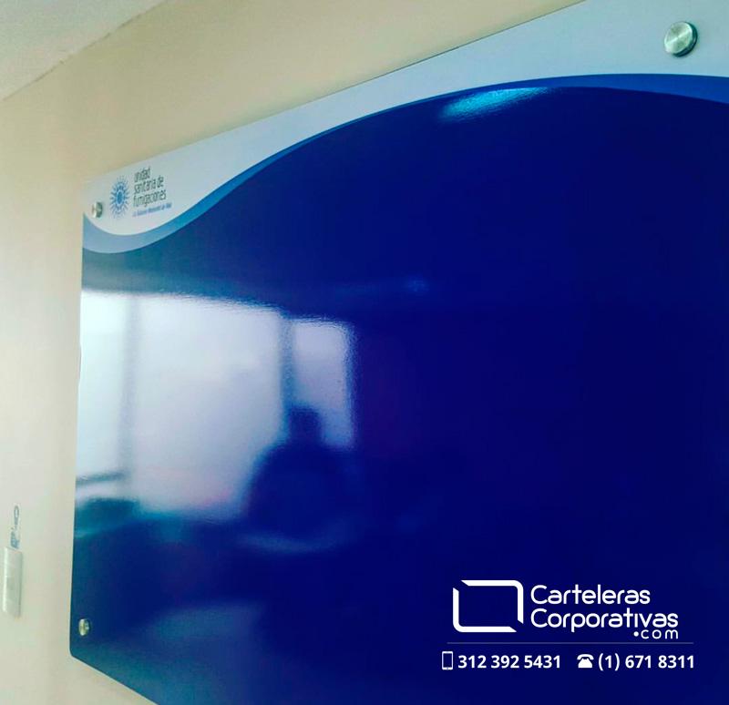 Cartelera informativa para oficina en la ciudad de Bogotá
