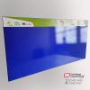 cartelera tipo retablo magnetica azul consorcio 200x117 cms vista lateral