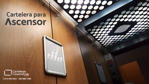 Carteleras para ascensor