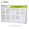 cartelera marco abatible tamaño 70x50 cms para reglamento distanco