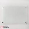 tablero en vidrio templado antireflejo de 100x70 cms vista frontal