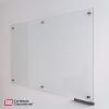 tablero en vidrio templado de 150x100 cms vista lateral