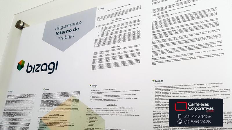 Reglamentos y politicas internas con logotipo, diagramación de reglamentos