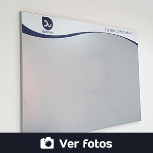 galería de fotos cartelera flotante magnética