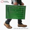 tablero táctico fútbol tipo maletin 50x35 cms