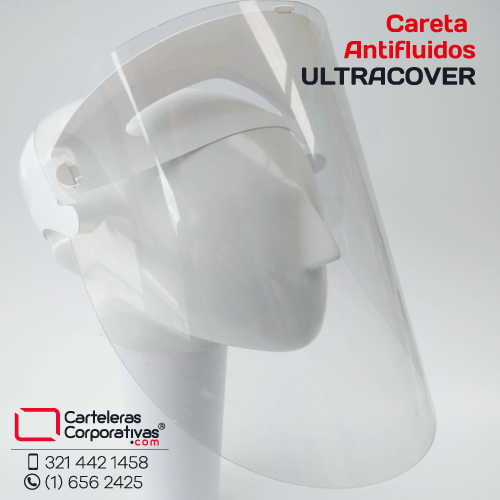 careta antifluidos ultra cover
