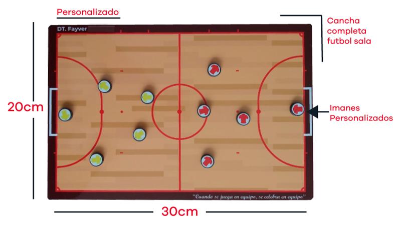 Características tablero magnético táctico deportivo, tablero deportivo personalizado, tablero para entrenadores, tablero de fútbol con imanes, tablero de fútbol magnético, tablero de cancha completa de futbol,