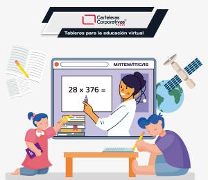 La importancia de los tableros en la educación virtual