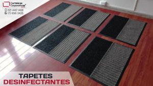 Tapetes desinfectantes en Bogotá