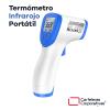 termómetro infrarrojo portátil a distancia para coronavirus