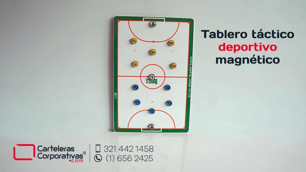 Tableros tácticos deportivos para fútbol personalizados doble cara