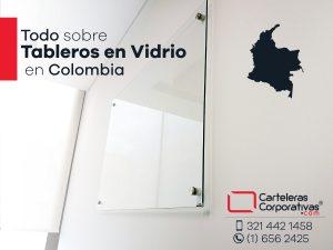 Tableros en vidrio en Colombia