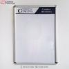 cartelera marco abatible para 4 hojas carta personalizada vista frontal porton de cataluña