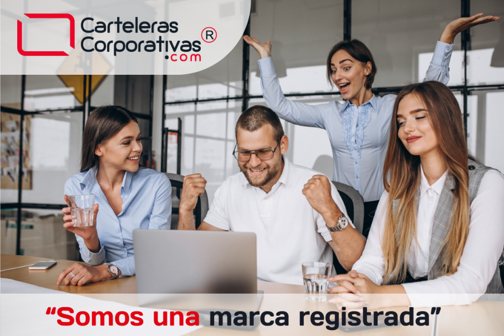 Carteleras Corporativas una marca registrada en Colombia