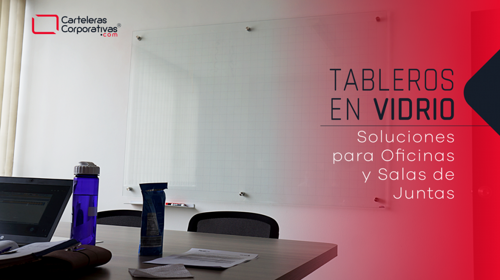 tableros en vidrio templado 180x120 cms soluciones para oficinas y salas de juntas en colombia